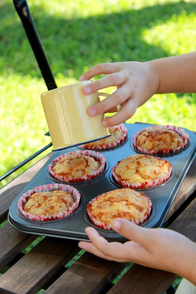 receta de muffins de jamon y queso - pagina 139