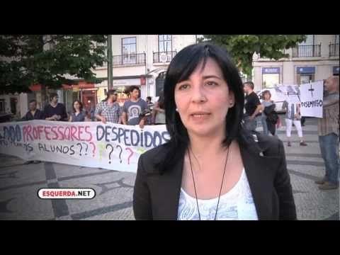 ESQUERDA.NET   Protesto de Professores Contratados e Desempregados