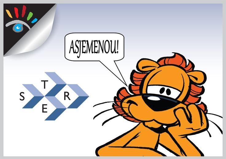 Wat is Reclame. Reclame is gezien worden! Reclame bestaat eigenlijk al sinds er handelaren bestaan. Reclame komt van het Latijnse/Griekse woord 'Clamare, Clamor', wat schreeuwen betekent. Vroeger was schreeuwen de beste manier om duidelijk te maken wat er te koop was.  Afbeelding: Loeki de Leeuw de mascotte van de STER (1972 tot 2004). http://markrademaker.nl