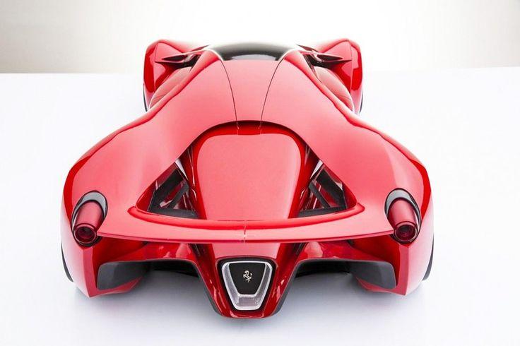 Ferrari F80 Concept, render (Foto) | AllaGuida