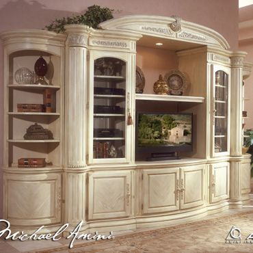 Michael Amini Entertainment Center Michaelamini Available
