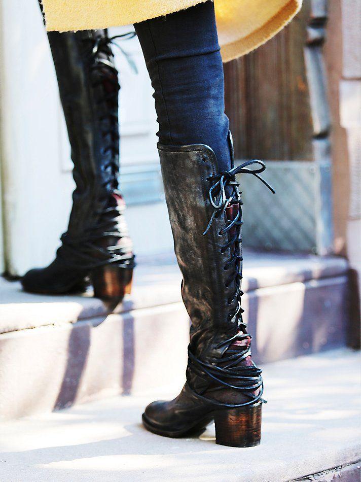 Freebird by Steven Womens Coal Tall Boot