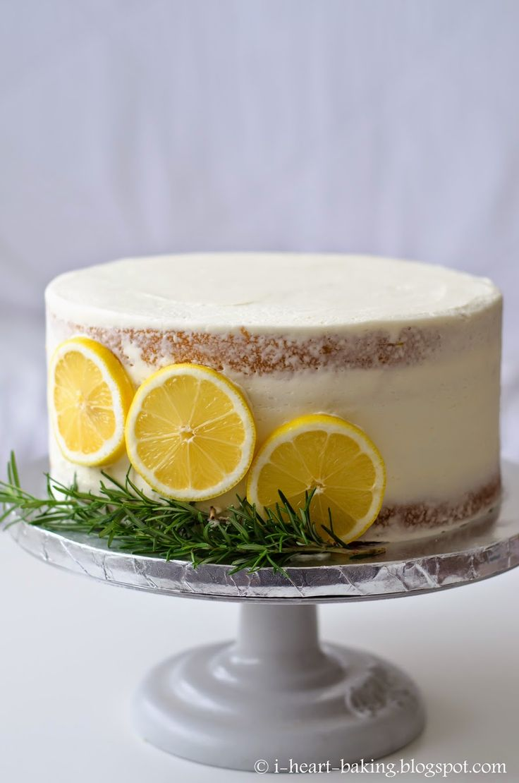 Fresh Cream Lemon Cake Recipe
