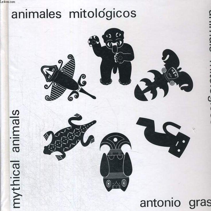 Animales mitologicos. diseno precolombino colombiano antonio grass