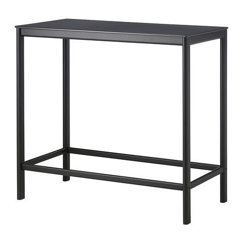 GARPEN Bar table IKEA Rustproof aluminum frame is both sturdy and lightweight. The materials in this outdoor furniture require no maintenance.