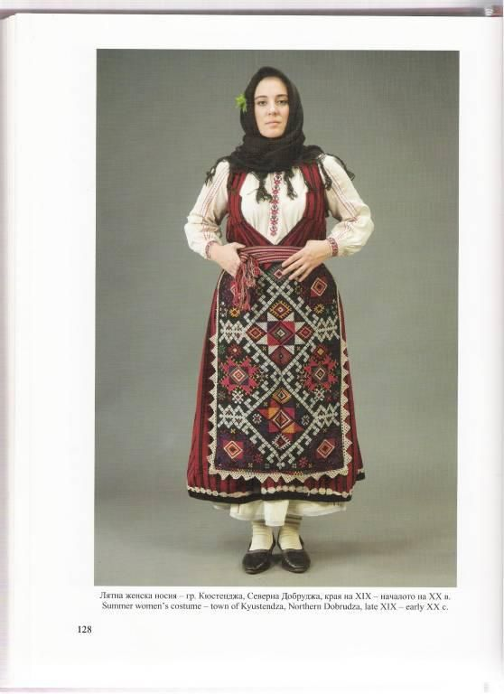 Summer dress from Kostendja, Northern Dobrudja, now Romania