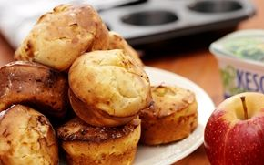 Omenamuffinit / Apple muffins