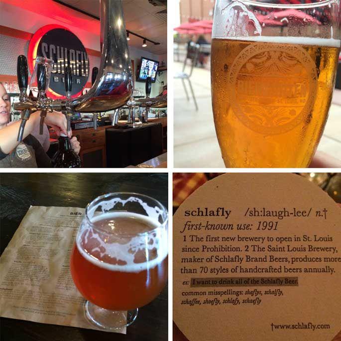St Louis - Beer Capital? Schlafly Brewery Urban Chestnut Brewery Budweiser Brewery