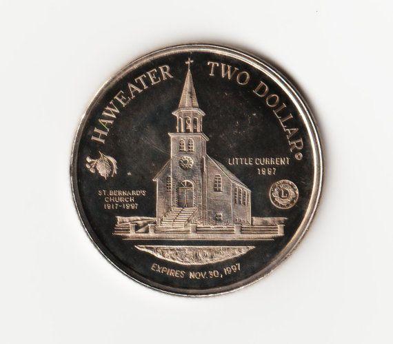 Manitoulin Island  Haweater 1997  Two Dollar Coin  by HannahsStuff