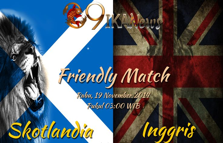 Taruhan Bola : Inggris Vs Skotlandia Dalam Laga International Friendly