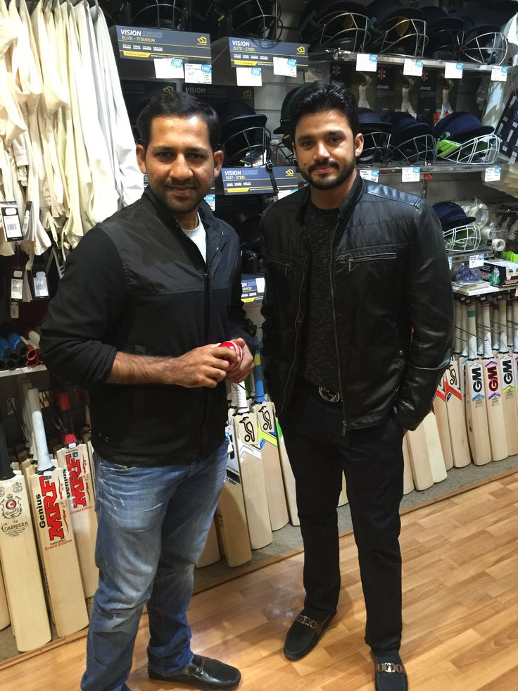 Azhar Ali paid us a visit earlier this year...what an amazing double century at the MCG yesterday! #pureclass #205 #mcg