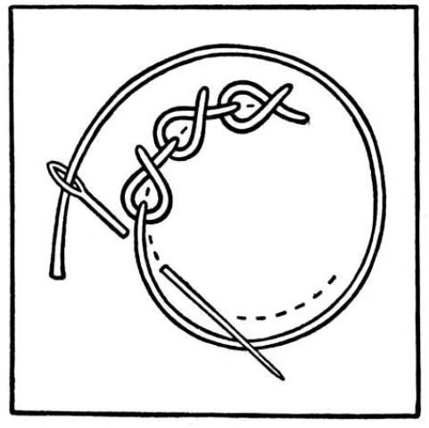 Rope Stitch. It is very useful for outlining.