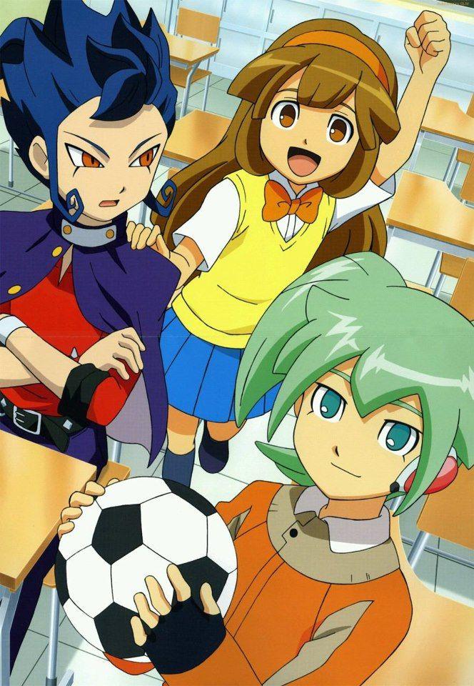 inazuma eleven go chrono stone kinako - Google Search