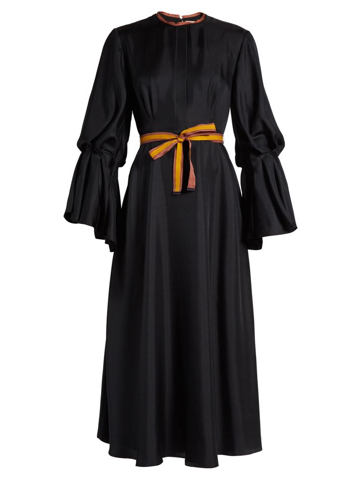 Ophelia silk-satin dress | Roksanda | MATCHESFASHION.COM