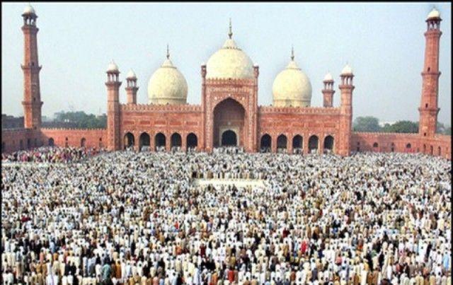 EID UL FITR PRAYERS TIMINGS IN LAHORE PAKISTAN