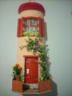 Artesanato Fofo: Telha decorada com decoupagem