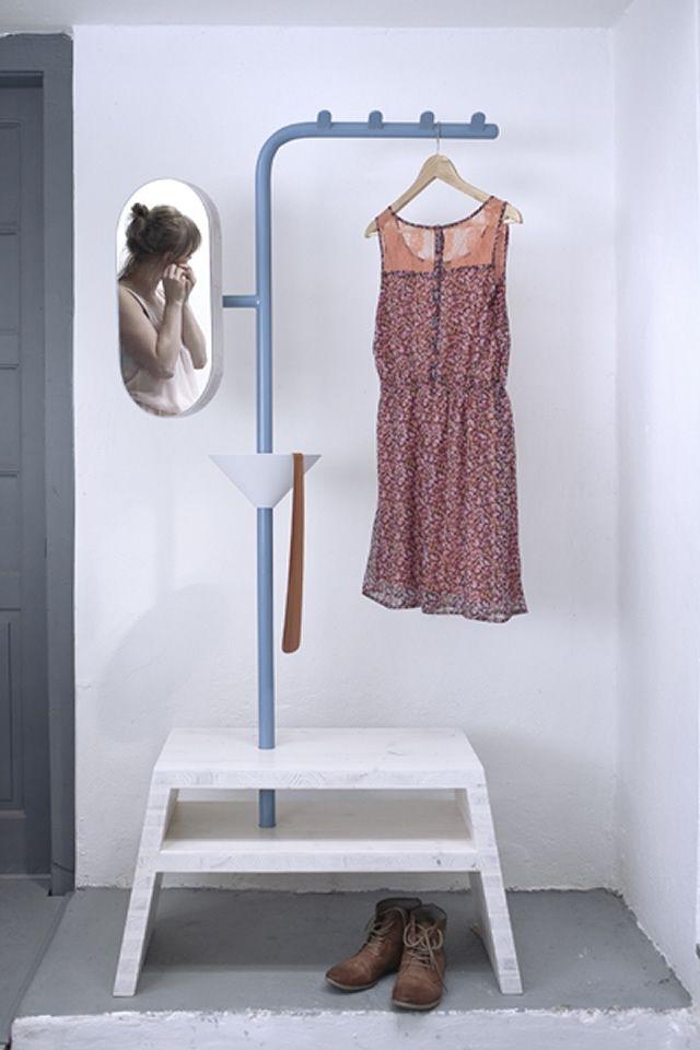 31 besten stummer diener bilder auf pinterest kleiderst nder m beldesign und diener. Black Bedroom Furniture Sets. Home Design Ideas