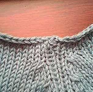 TEJIENDO A DOS AGUJAS: Como tejer cuellos impecables