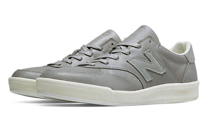 New Balances 300 Leather Light Grey Mens Lifestyle Shoes / New Balance Online E14t5896