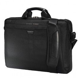 Everki EKB417BK18 Lunar Laptop Bag - Briefcase Tas Laptop termurah hanya di Gudang Gadget Murah. The Lunar briefcase is a convenient companion thats great for everyday carrying to and from the office or on short business trips. It can hold up to a 18.4 laptop, accessories and a quick-access - Black