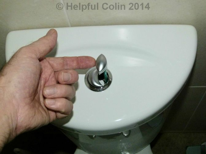Dual Flush Toilet Cistern Lid Removal