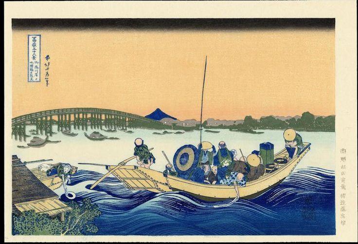 Katsushika Hokusai - The Thirty-Six Views of Mt. Fuji - Asakusa Honganji