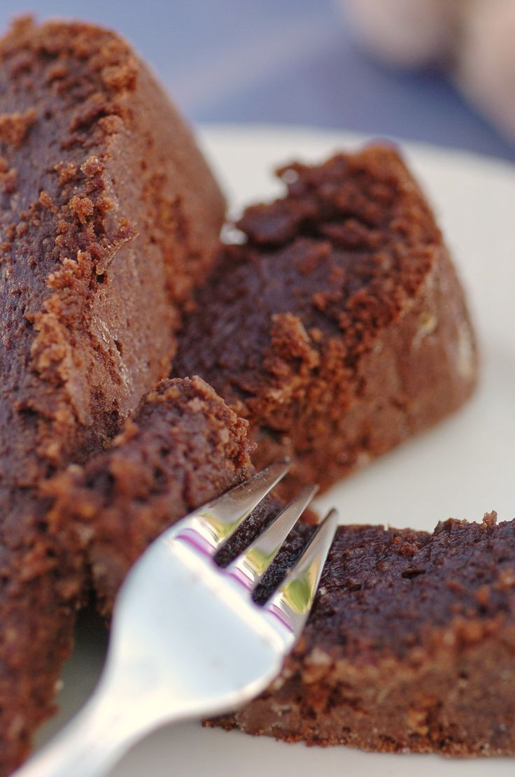 Warm (or not) Chocolate Pudding Cake