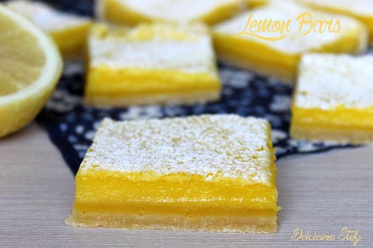Dolcetti al Limone o Lemon Bars