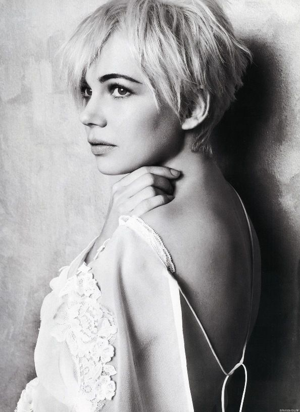 The Fashion Dealer: Michelle Williams: Marie Claire Magazine Covergirl (February 2011)