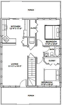 Picture 2 of 3 Floor plans, Shed plans, Garage plans