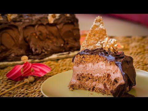 Τούρτα παγωτό σοκολάτα - Παγωμένη ΣΟΚΟΛΑΤΟΚΟΛΑΣΗ