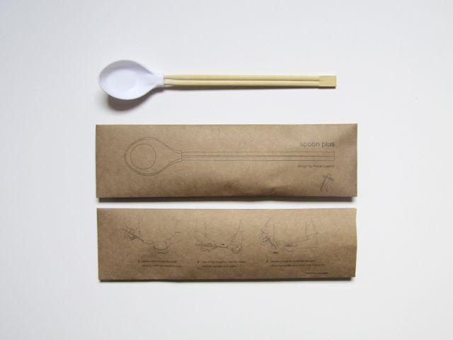 Spoonplus: When Spoon Met Chopsticks
