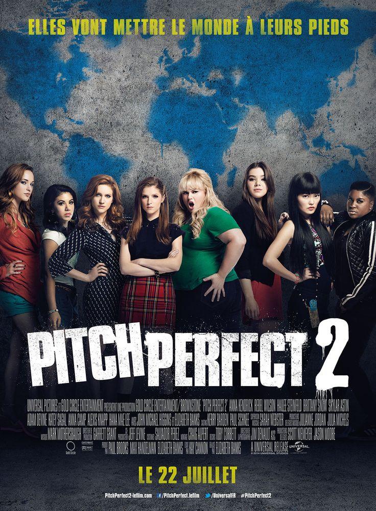 Affiche du film Pitch Perfect 2 réalisé par Elizabeth Banks avec Anna Kendrick, Hailee Steinfeld, Rebel Wilson