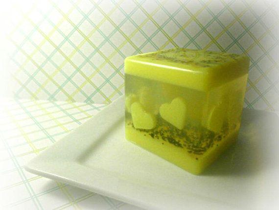 Lemon Cube by Kokolele on Etsy