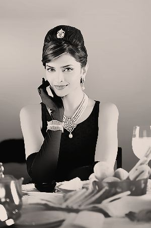 Audrey, Bollywood style. #Deepika #Bollywood