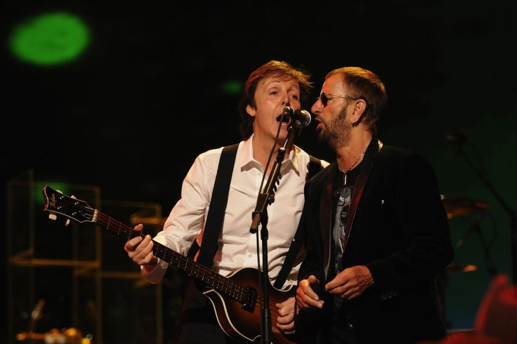 """""""Beatles Paul McCartney and Ringo Starr to Reunite at 2014 Grammys"""" Full article at http://www.spin.com/articles/grammys-2014-beatles-paul-mccartney-ringo-starr-taylor-swift/"""
