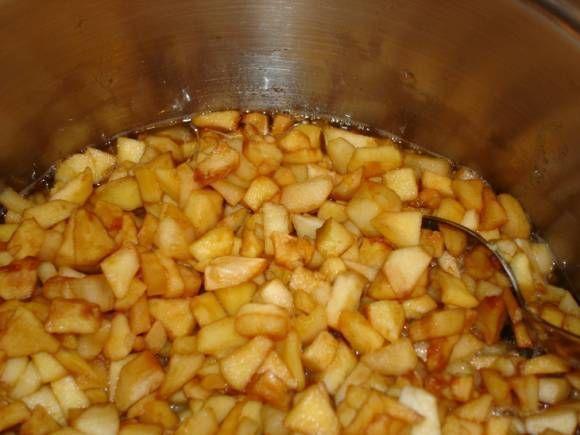 Яблочная начинка с корицей для пирогов - Кулинарные рецепты от Веселого Жирафа