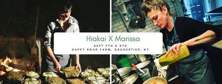 Hiakai x Marissa: Fire, Smoke, Hāngi