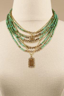 Adelaide Necklace - Black Diamond Necklace, Jewelry   Soft Surroundings
