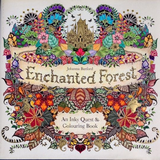 87 Best Images About Johanna Basford The Enchanted Forest Colouring On Pinterest