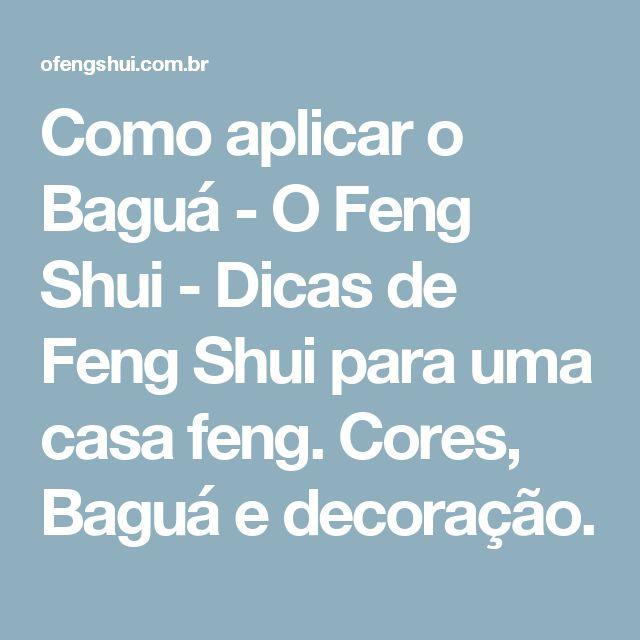 como aplicar o bagu o feng shui dicas de feng shui