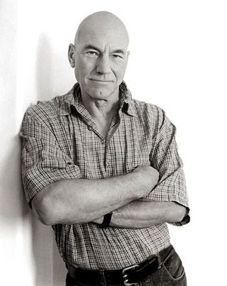 Patrick Stewart by Andy Gotts