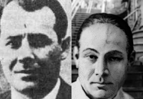 The dude on the left is NOT Salvatore Maranzano, even though tons of sources claimed he was. The right one is Maranzano.