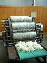 2014 de alta calidad 30-50 kg por hora máquina de cardado de lana de oveja