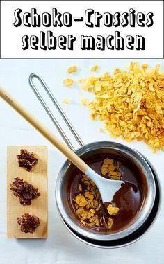 Cornflakes-Kekse mit Schokolade – so geht's – #CornflakesKekse #gehts #mit #…