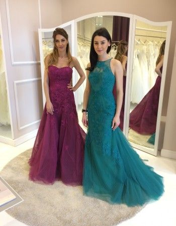 Andreea Runceanu si Patricia Cimpoiasu de la trupa Amadeus ravisante in rochiile de la Bella Sposa!