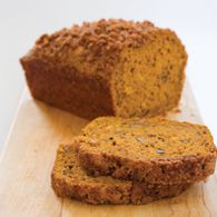 CreateTV.com >>Cooking >>Recipes >>Pumpkin Bread Pumpkin Bread from Chris Kimball  Makes two loaves The test kitchen's preferred loaf pan me...