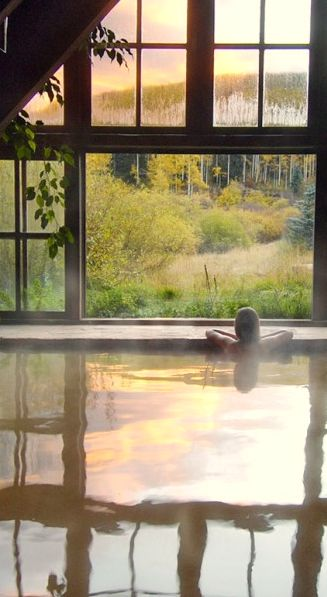 Dunton Hot Springs Resort, Dolores, Colorado   ( I was here when I was a child, it was very different back then)