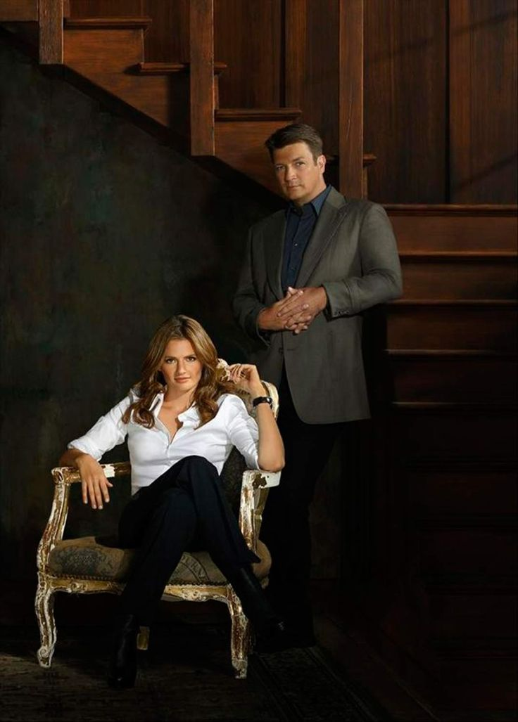 Stana Katic y Nathan Fillion - Castle - © ABC
