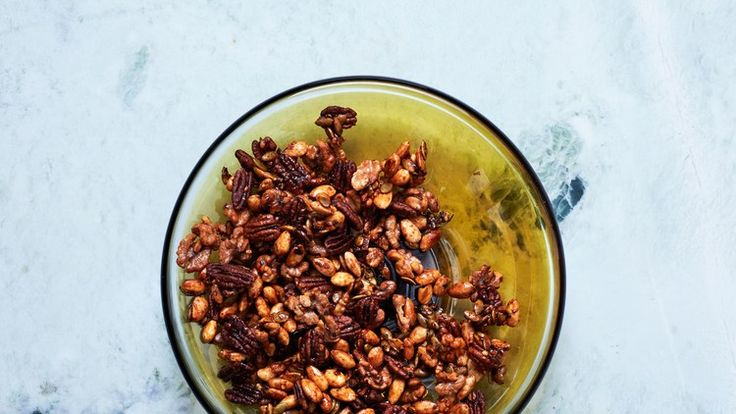 Sweet-and-Spicy Mixed Nuts Recipe | Bon Appetit